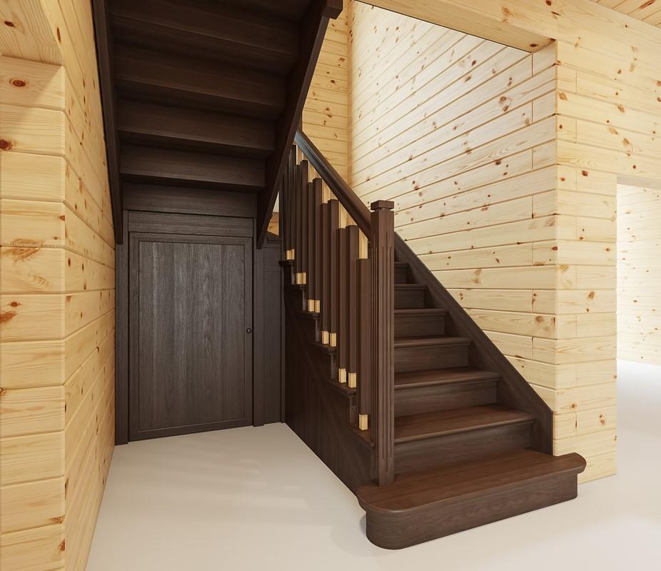 лестницы каталог деревянные