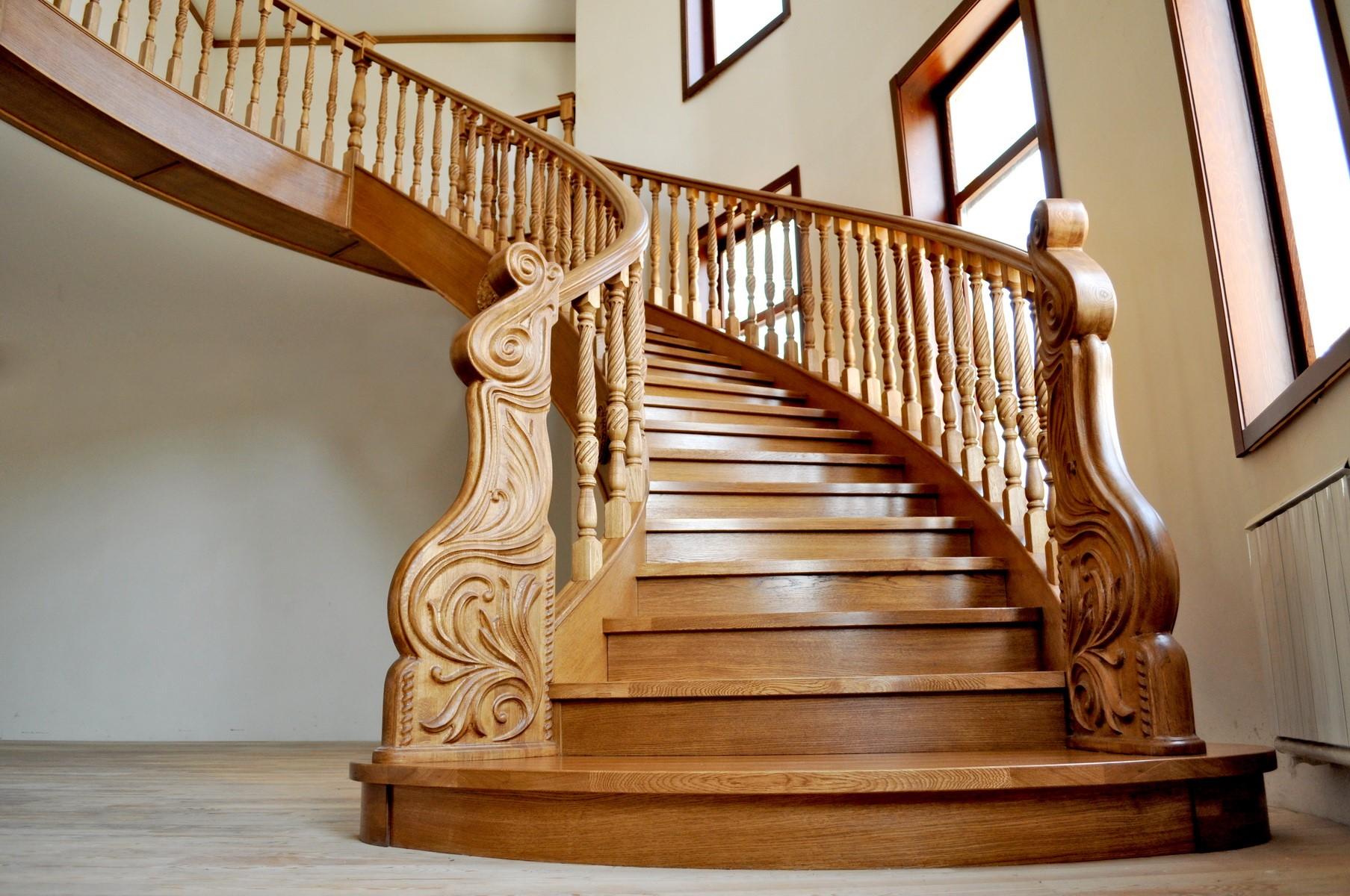 элитные лестницы на заказ дизайн